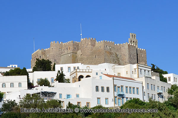 Holy Monastery of St. John the Theologian on Patmos Island